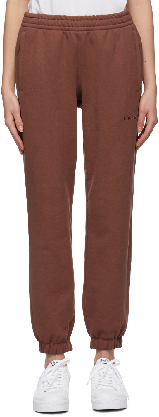 Photo: adidas Originals Brown Pharell Wiliams Edition Basic Lounge Pants