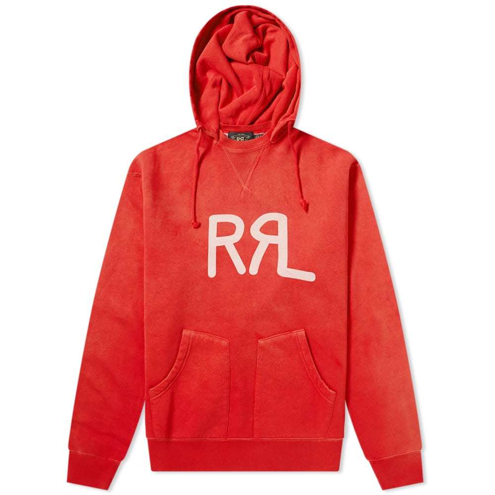 RRL Logo Popover Hoody