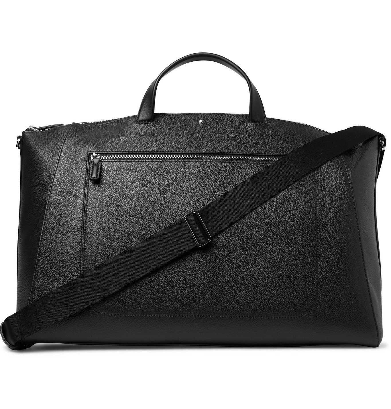 Photo: Montblanc - Meisterstück Full-Grain Leather Holdall - Black