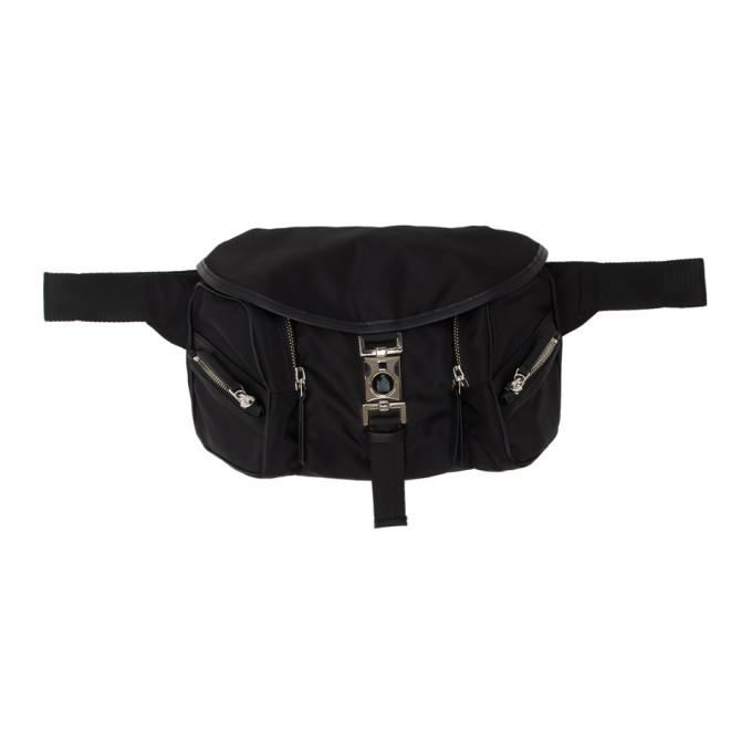 Photo: Lanvin Black Nylon Belt Bag