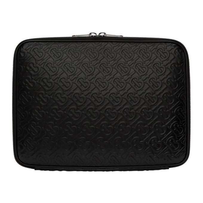 Photo: Burberry Black Monogram Laptop Case