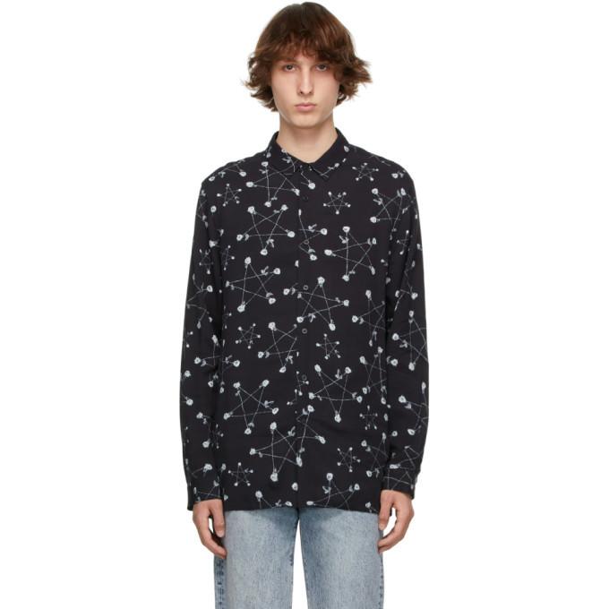 Photo: Ksubi Black Graphic Goth Star Shirt