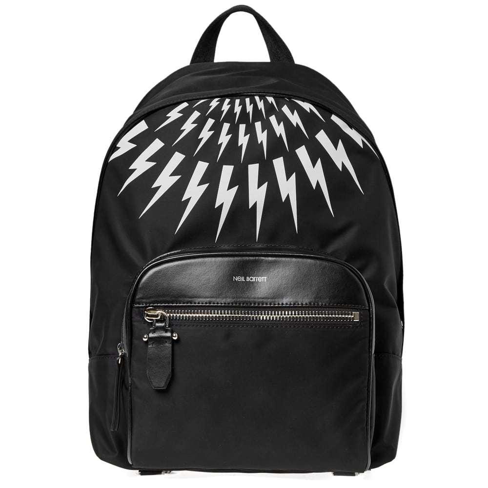 Photo: Neil Barrett Lightning Bolt Nylon Backpack