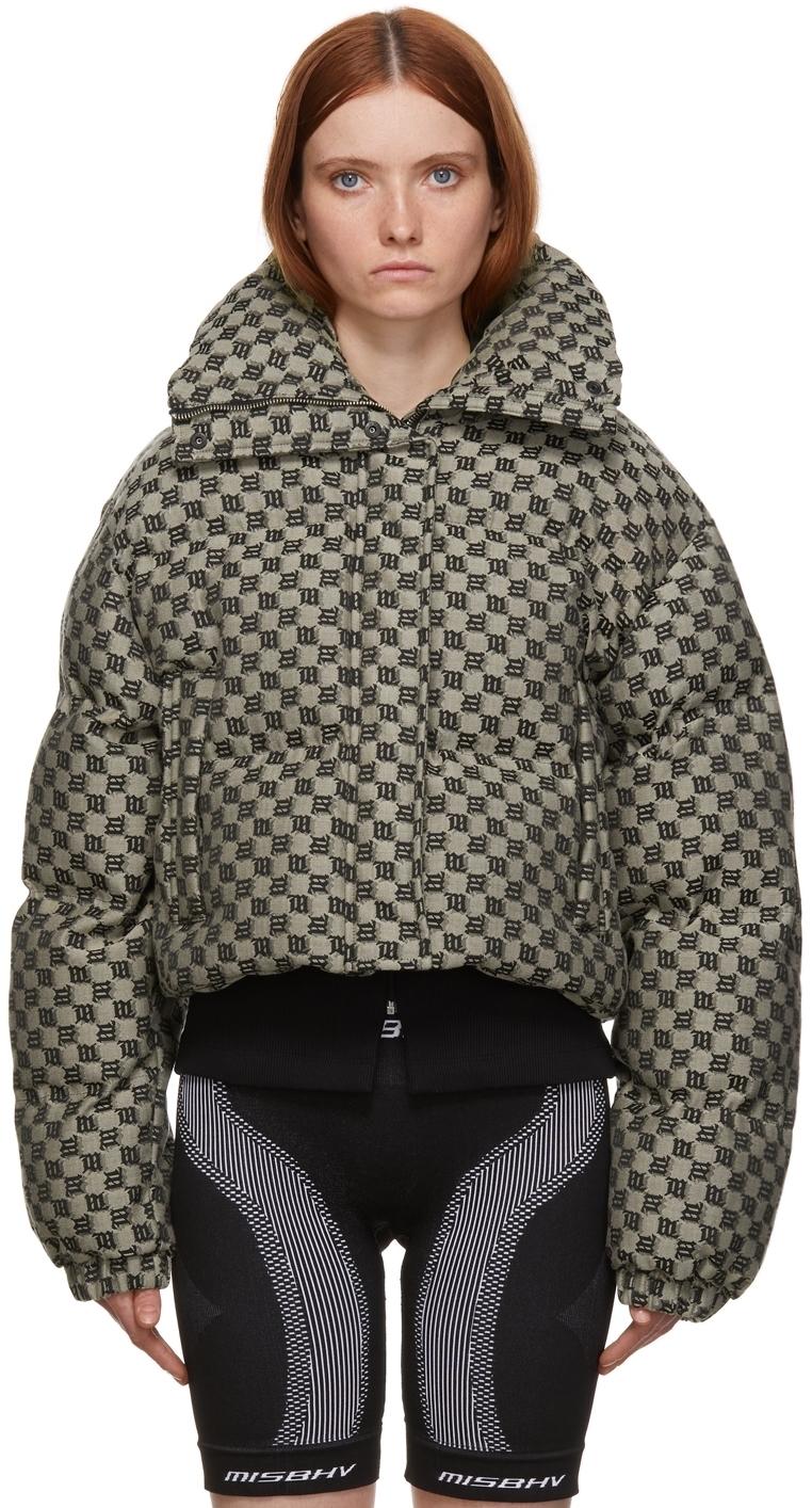 Photo: MISBHV Beige Monogram Puffer Jacket