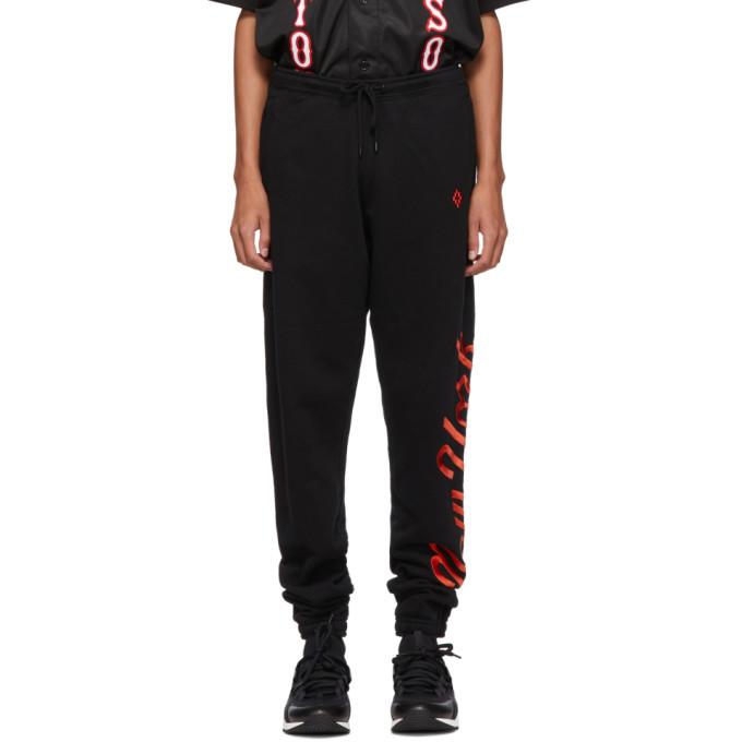 Photo: Marcelo Burlon County of Milan Black NY Mets Edition Lounge Pants