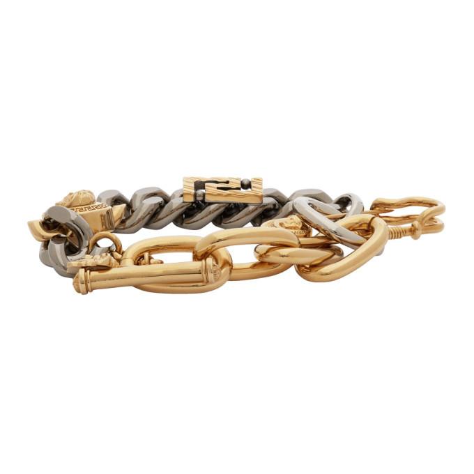 Versace Gold Charm Bracelet