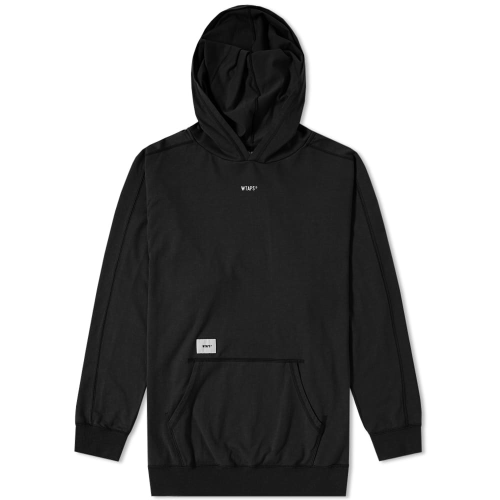 Photo: WTAPS Long Sleeve Hooded Tee Black