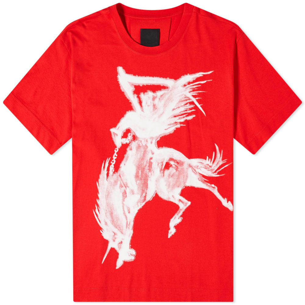 Photo: Givenchy Red Reaper Oversized Tee