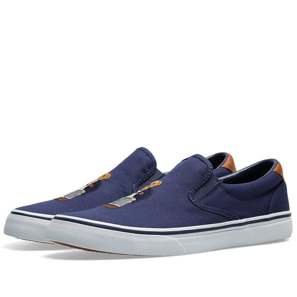 Photo: Polo Ralph Lauren Slip On Bear Sneaker