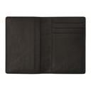 Common Projects Black Saffiano Folio Bifold Card Holder
