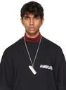 Ambush Silver Large Logo Lighter Case Necklace
