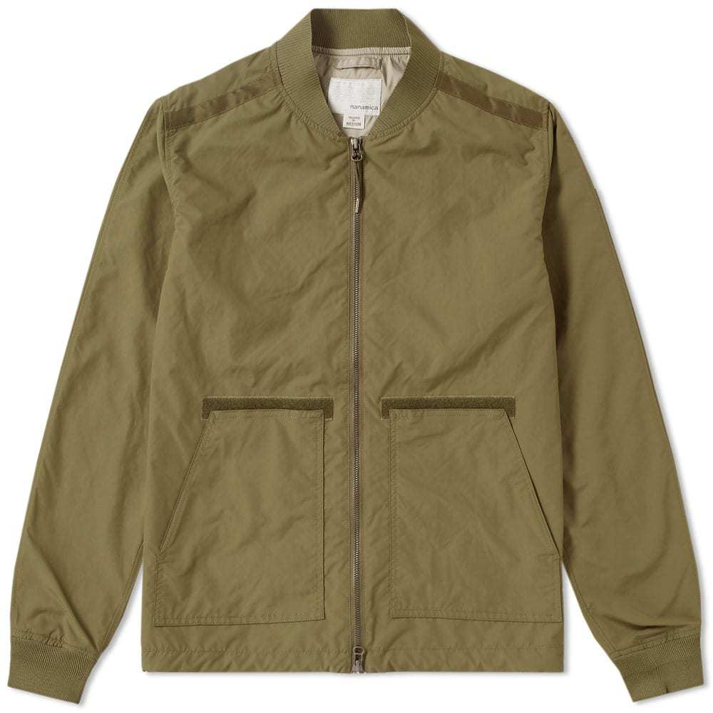 Photo: Nanamica Dock Jacket Green