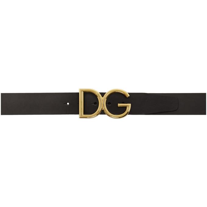 Photo: Dolce and Gabbana Black Vintage Belt