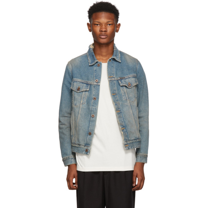 Photo: Off-White Blue Denim Gradient Jacket