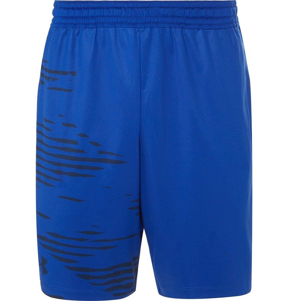 Photo: Under Armour - MK1 HeatGear Shorts - Men - Blue