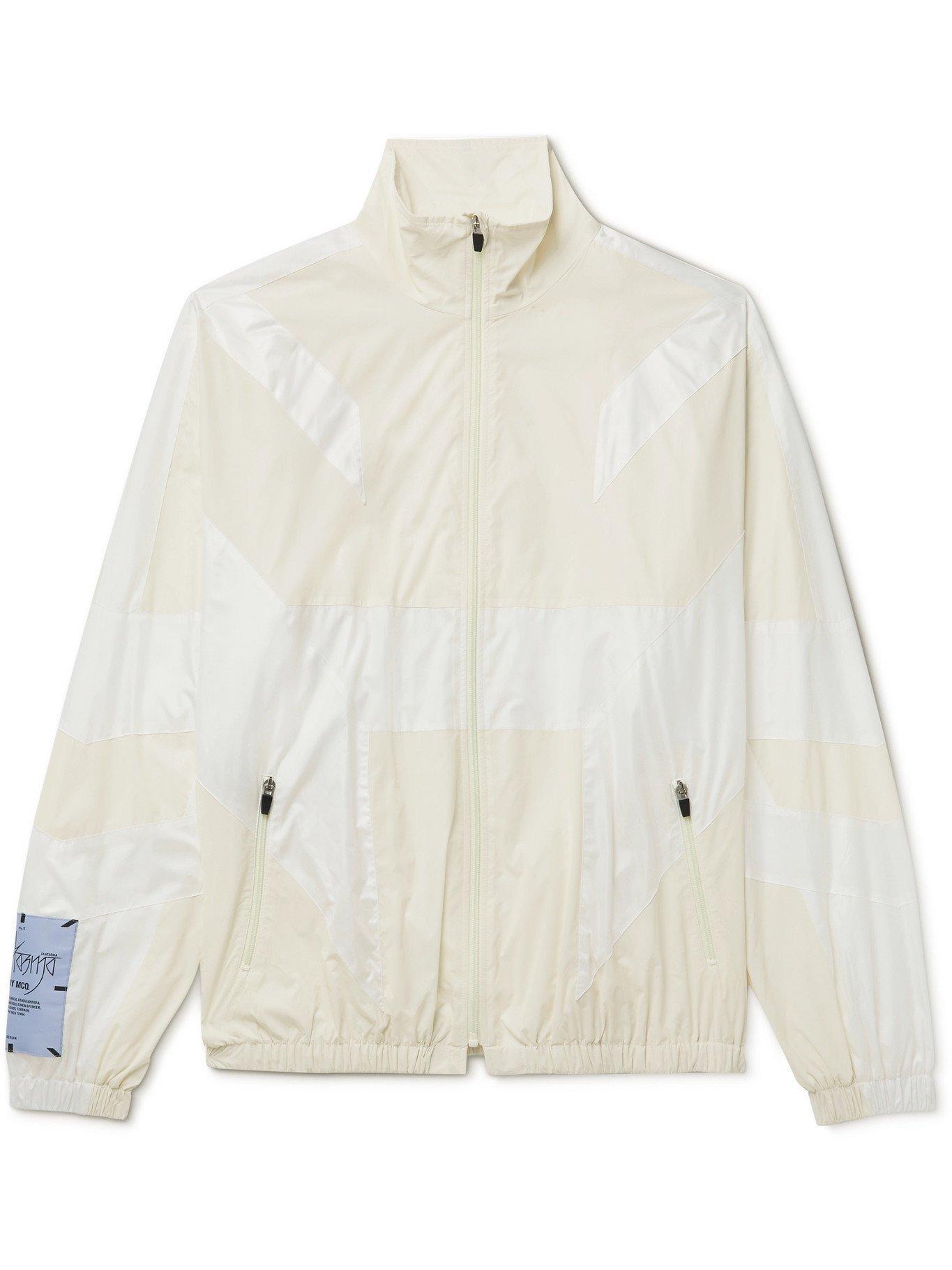 MCQ - Fantasma Glow-in-the-Dark Panelled Shell Jacket - White - M