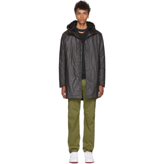 Photo: Belstaff Grey Chevington Hooded Parka
