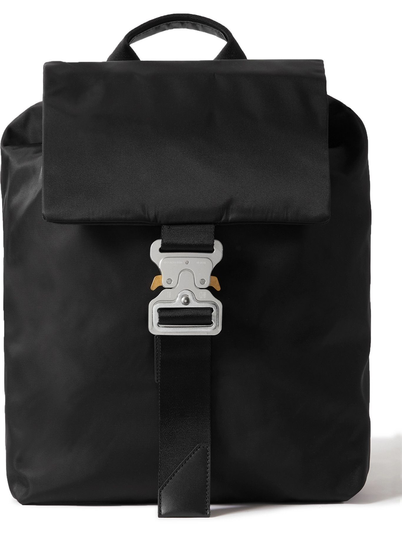 1017 ALYX 9SM - Leather-Trimmed Nylon Backpack