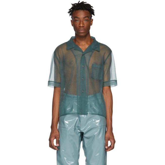 GmbH Green See-Through Luka Shirt