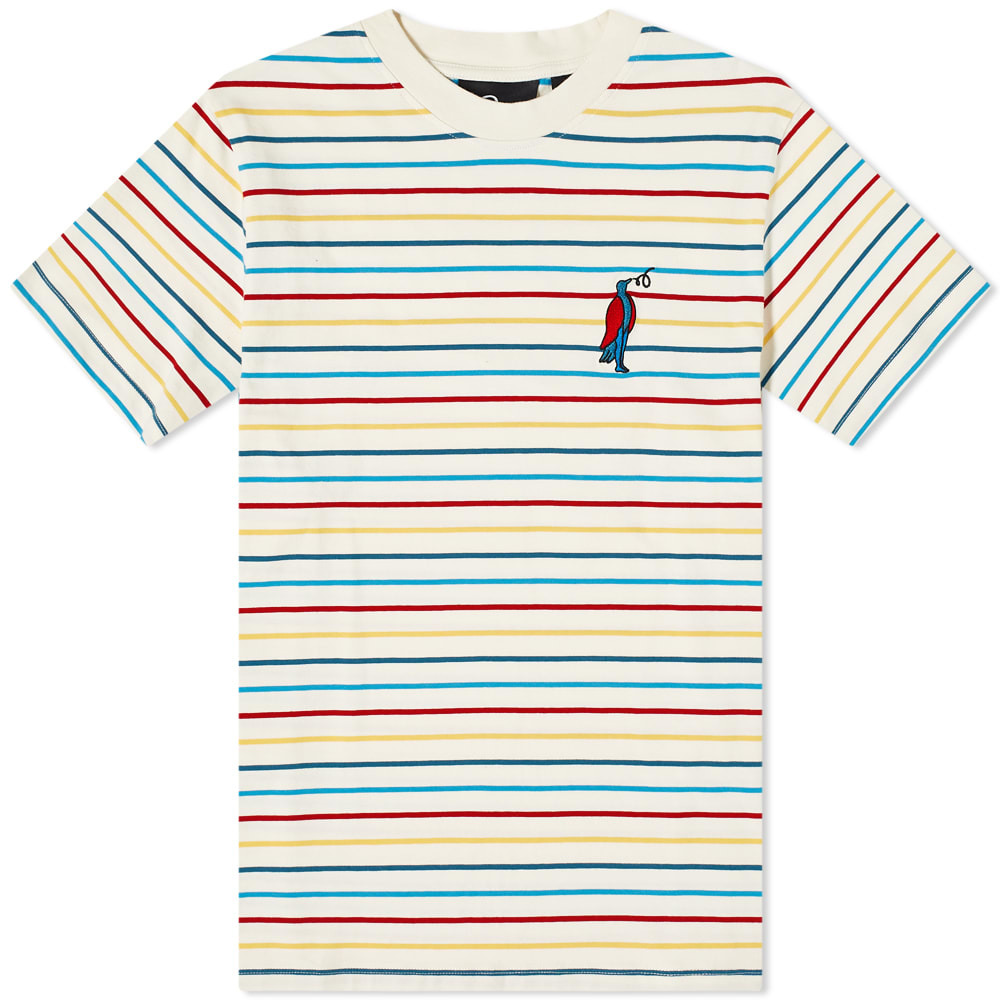 Photo: By Parra Staring Striped Tee