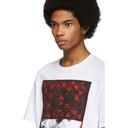 Raf Simons White Pierced Mouth T-Shirt