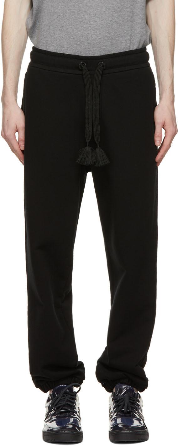 Photo: Moncler Genius 5 Moncler Craig Green Black Drawstring Lounge Pants