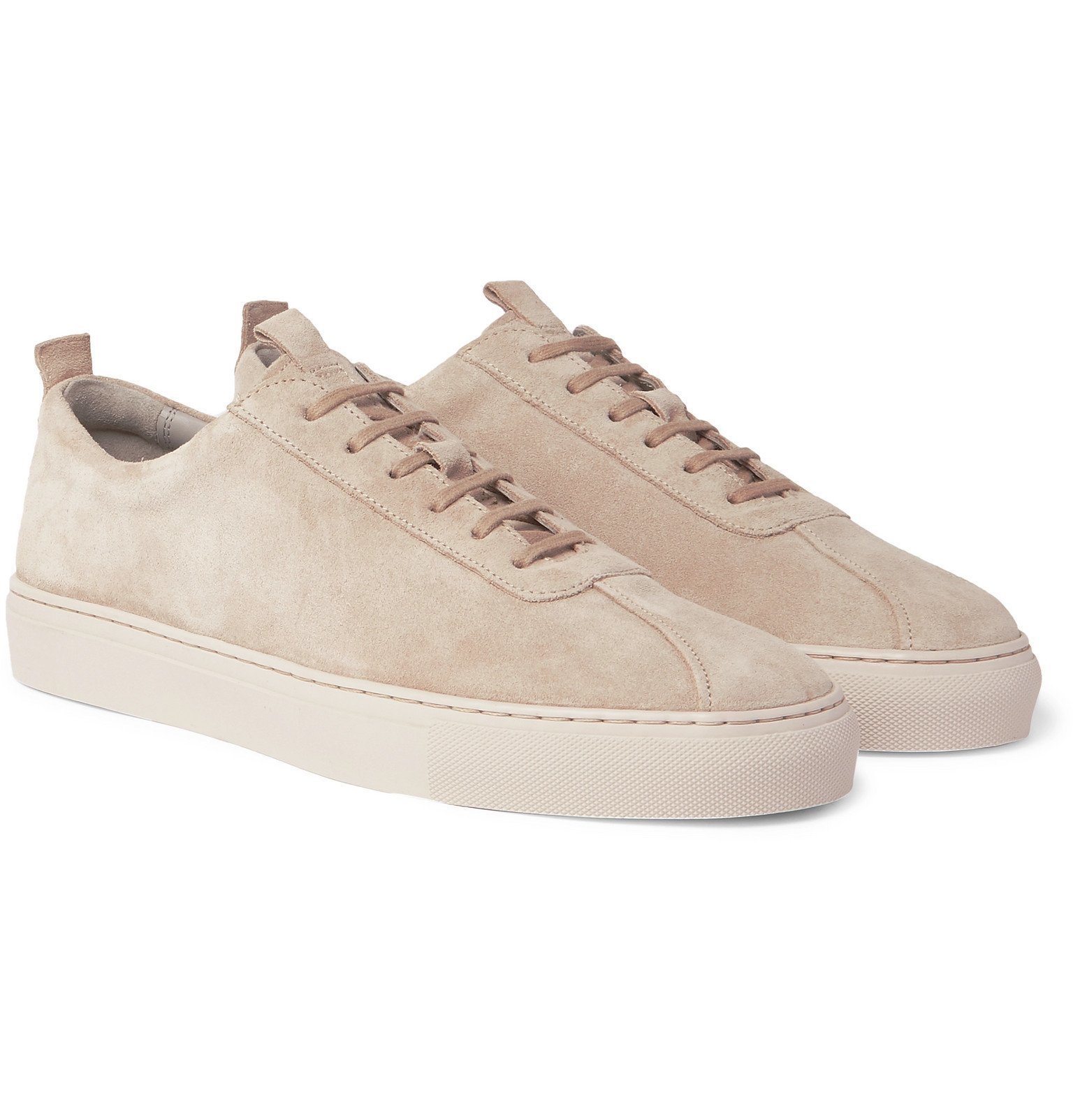 Photo: Grenson - Suede Sneakers - Gray