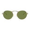 Oliver Peoples Gold 30th Anniversary Edition M-4 Sunglasses