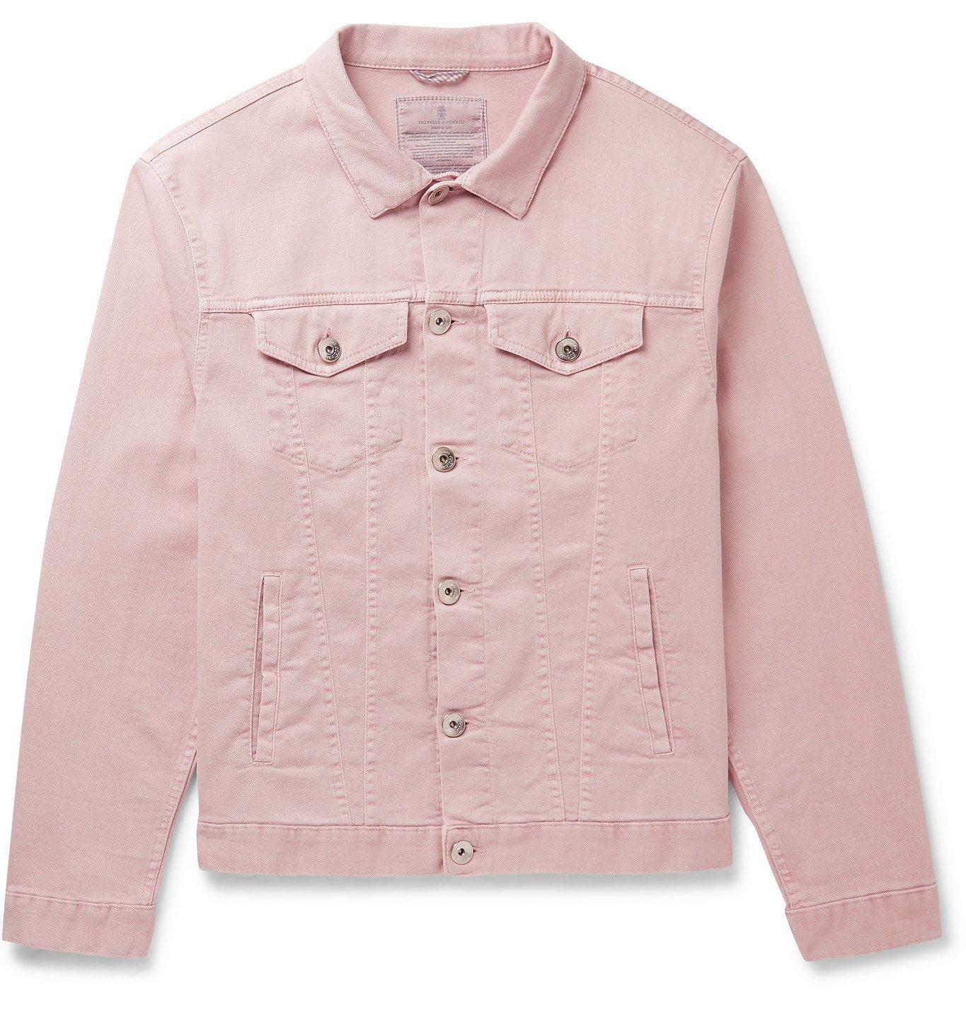 Photo: Brunello Cucinelli - Denim Jacket - Pink