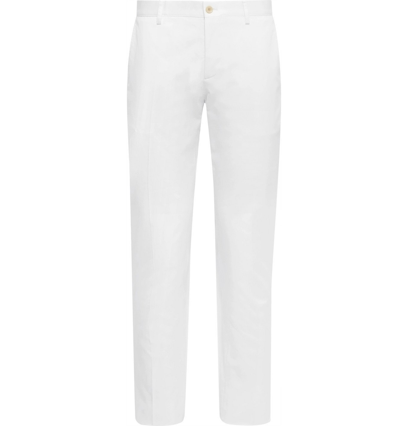 Photo: ETRO - Stretch-Cotton Twill Chinos - White