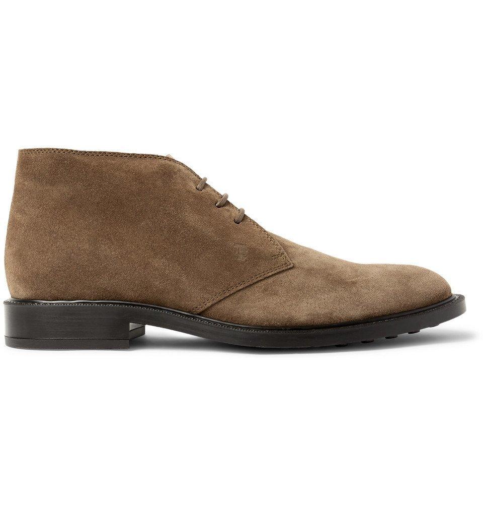 Tod's - Suede Desert Boots - Men - Brown
