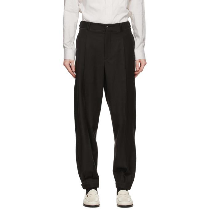 Giorgio Armani Black Classic Trousers