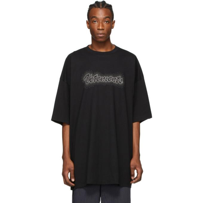 Photo: VETEMENTS Black Bling Bling T-Shirt