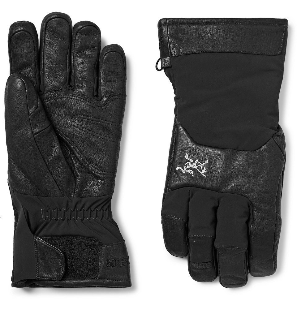 Photo: Arc'teryx - Sabre Leather and GORE-TEX Gloves - Men - Black