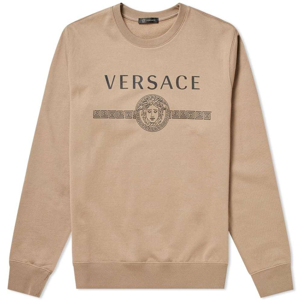 Photo: Versace Printed Logo Sweat