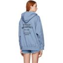Stella McCartney Blue 23 Old Bond Street Hoodie