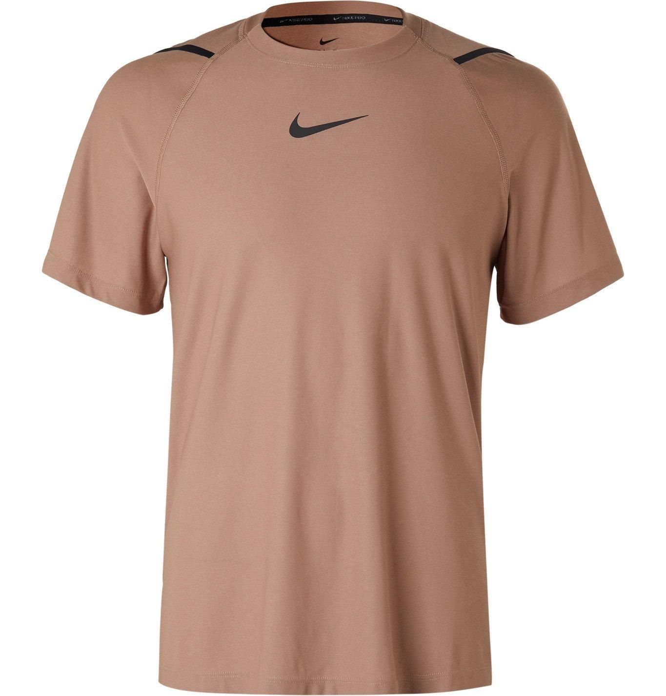 Photo: Nike Training - Pro Jersey T-Shirt - Pink