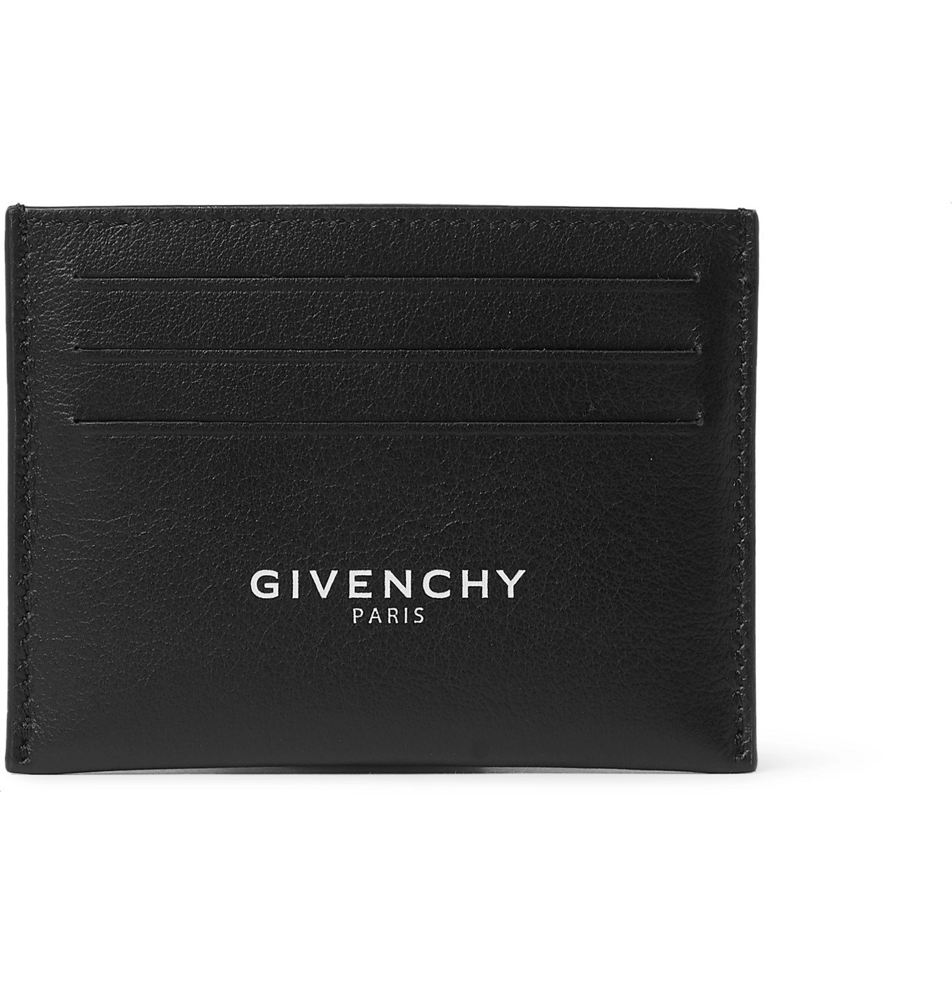 Photo: Givenchy - Logo-Print Leather Cardholder - Unknown