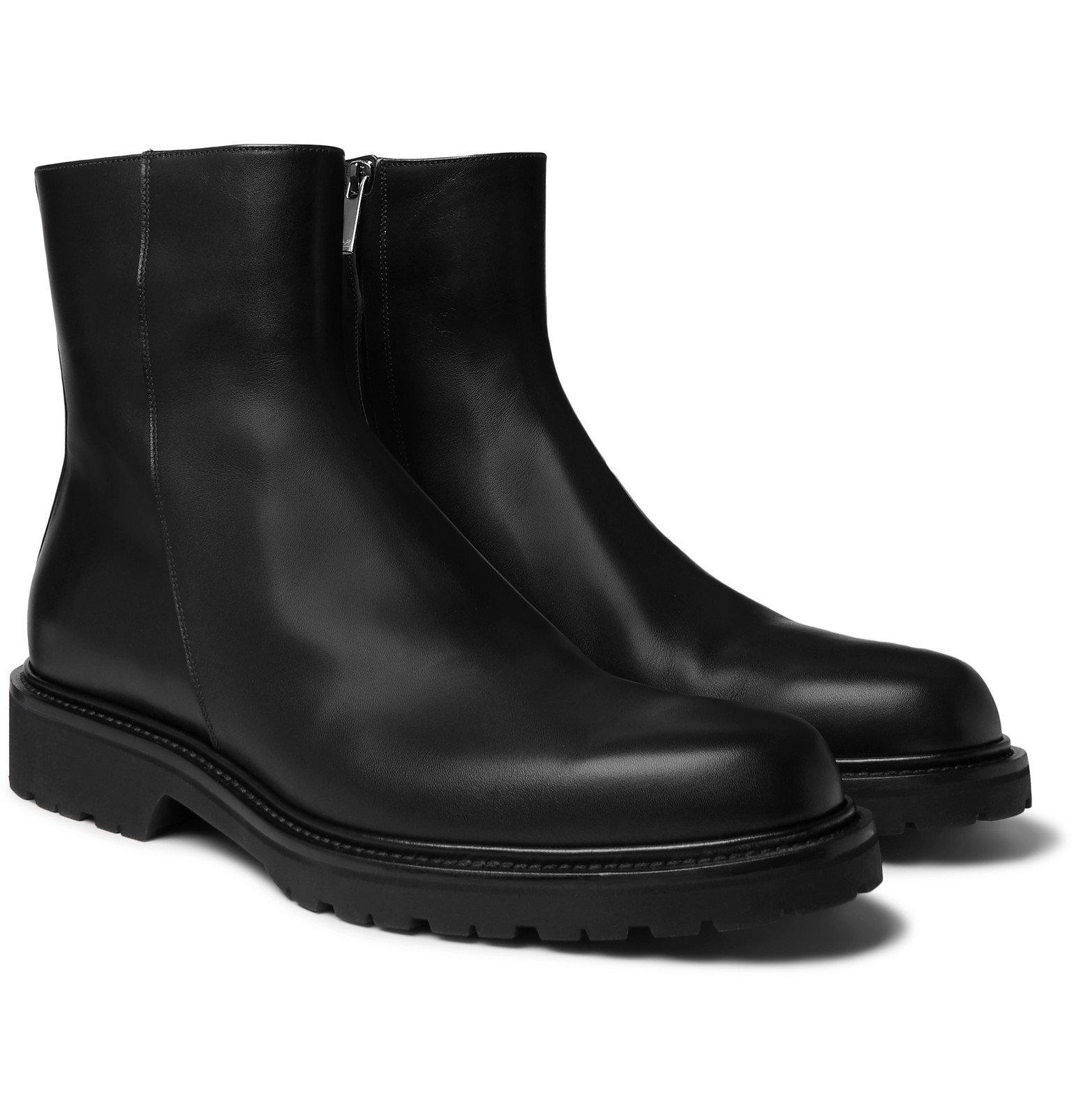 Photo: Mr P. - Leather Boots - Black