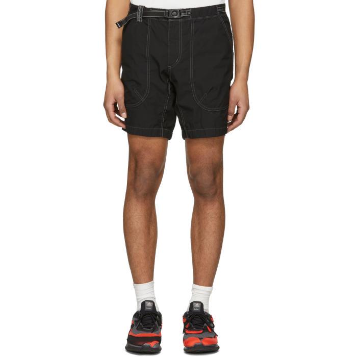 Photo: and Wander Black Dry Rip Shorts