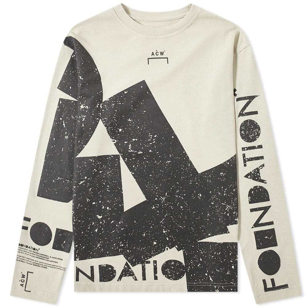 Photo: A-COLD-WALL* Long Sleeve Foundation Tee