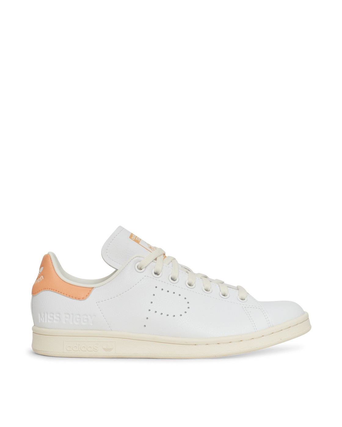 Photo: Adidas Originals Miss Piggy And Kermit Stan Smith Sneakers Ftwr White