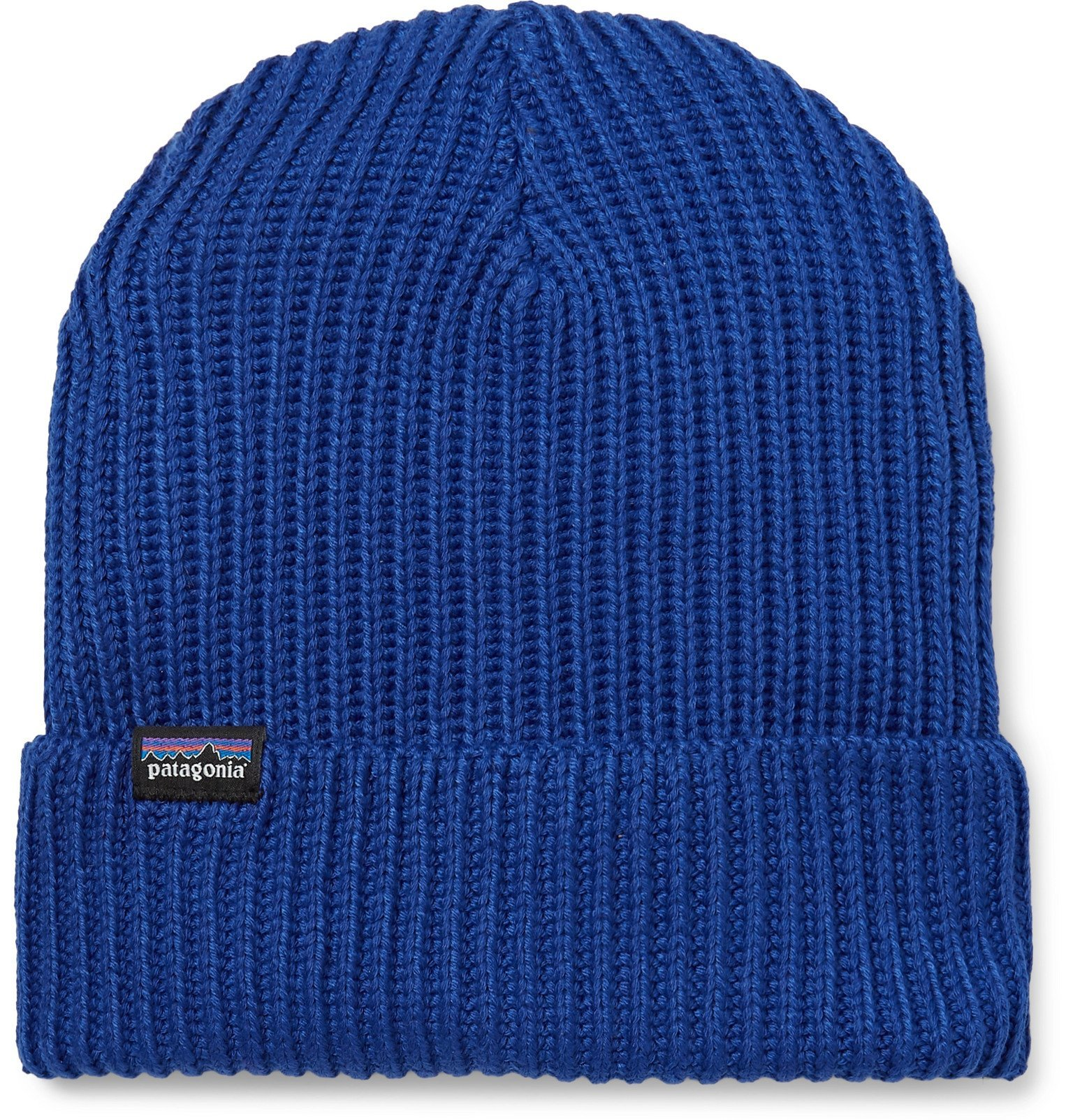 Photo: Patagonia - Ribbed-Knit Beanie - Blue