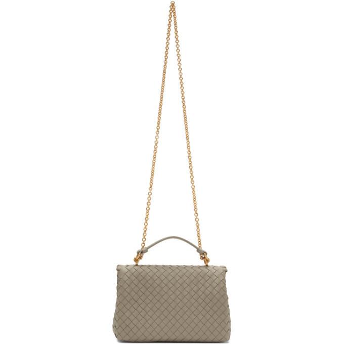 Bottega Veneta Grey Olympia Bag