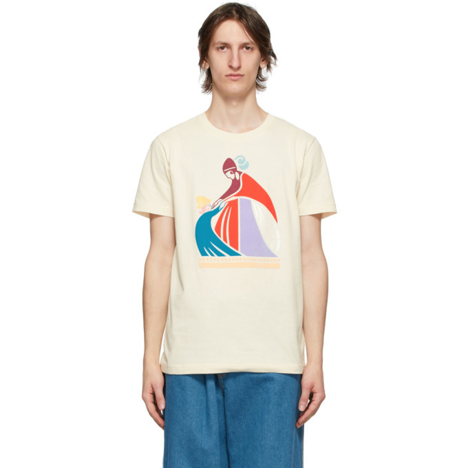Photo: Lanvin Off-White Mother and Child T-Shirt