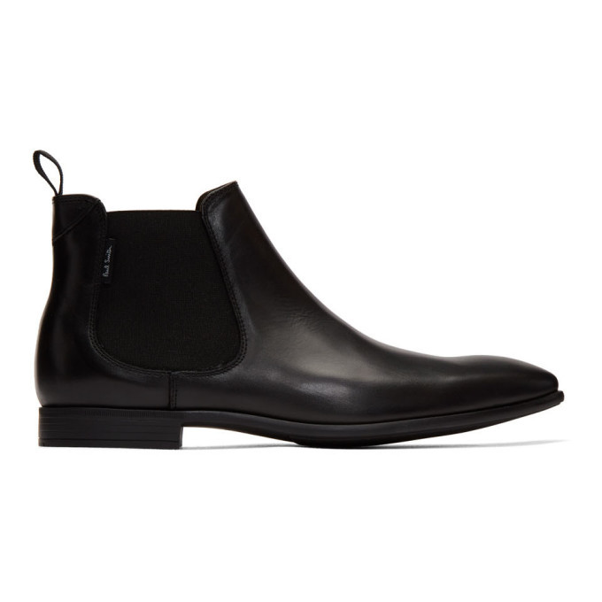 Photo: PS by Paul Smith Black Falconer Chelsea Boots