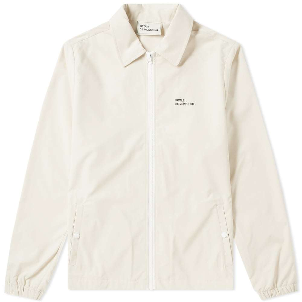 Photo: Drôle de Monsieur Not From Paris Coach Jacket Beige