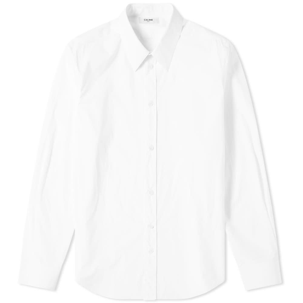 Photo: Celine Classic Long Sleeve Poplin Shirt