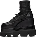 Sacai Strap Sock Platform Boots