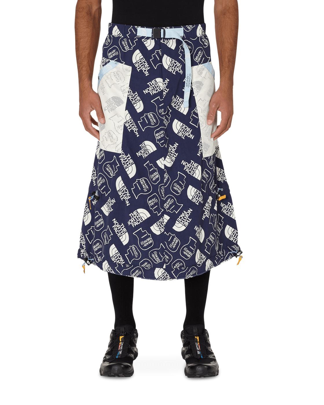 Photo: Brain Dead The North Face Tech Skirt Tnf Navy/Vintage White